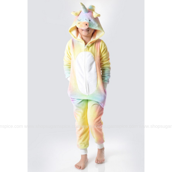 TIE DYE UNICORN ONE PIECE