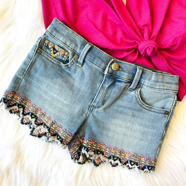 BRITTANY DENIM SHORT