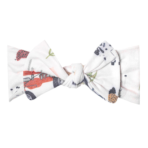 jo knit bow headband