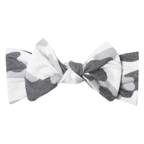 gunnar knit bow headband