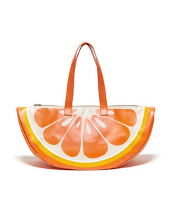ORANGE SUPER CHILL CIRCLE COOLER BAG