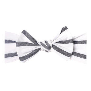 CITY KNIT HEADBAND BOW