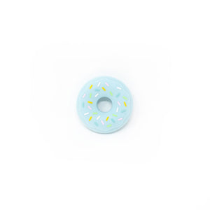DONUT SILICONE TEETHER IN BLUE