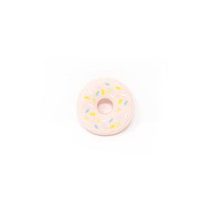 DONUT SILICONE TEETHER IN PINK