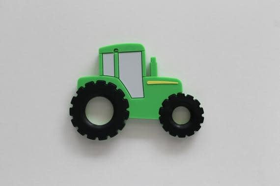 TRACTOR TEETHER IN GREEN