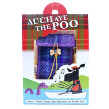 Load image into Gallery viewer, Auch Aye the Poo – Purple Tartan