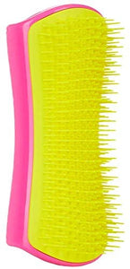Pet Teezer, Detangling and Dog Grooming Brush, Pink and Yellow