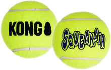 Load image into Gallery viewer, KONG Air Squeaker Tennis Ball (3Pk) Medium