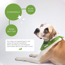 Load image into Gallery viewer, Earth Rated Dog Wipes,  100 Plant-based and Compostable Wipes  Scented