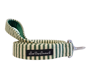 Green Striped PJ's Lead