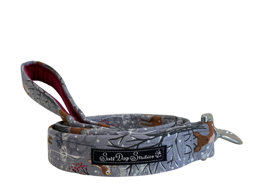 Whimsical Winter Dog Lead