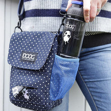 Load image into Gallery viewer, DOOG - Walkie Bag, Navy & White Polka Dot