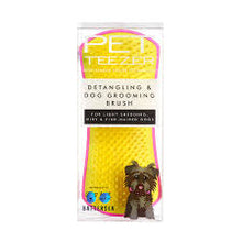 Load image into Gallery viewer, Pet Teezer, Detangling and Dog Grooming Brush, Pink and Yellow