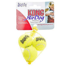 Load image into Gallery viewer, KONG Air Squeaker Tennis Ball (3Pk) Small