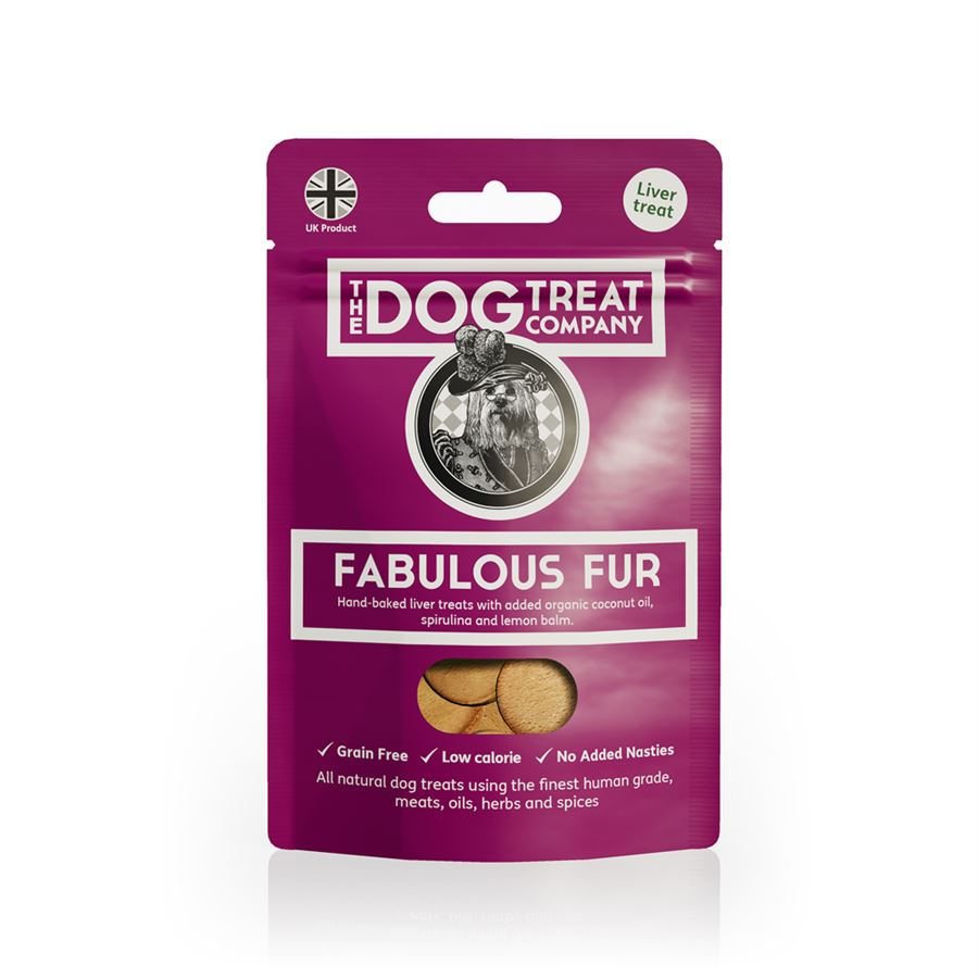 The Dog Treat Company Fabulous Fur Pouch 50g