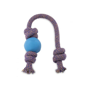 Natural Rubber Ball on Rope
