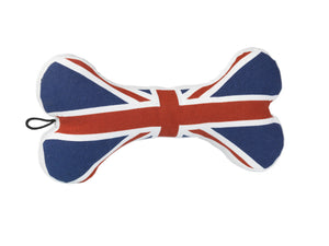 House of Paws Union Jack Bone Toy