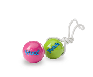 PLANET DOG ORBEE-TUFF FETCH THROW BALL WITH ROPE