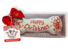 Load image into Gallery viewer, Hand Decorated Christmas Wheat Free Bone