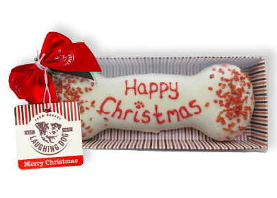 Hand Decorated Christmas Wheat Free Bone