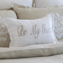 Load image into Gallery viewer, Be My Guest Linen Decor Pillow