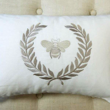 Load image into Gallery viewer, Bumble Bee Decor Pillow