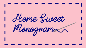 Home Sweet Monogram Gift Card