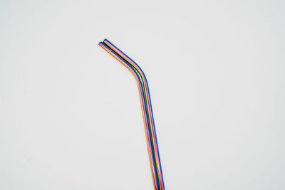Stainless Steel Straws (rainbow) - REssentials