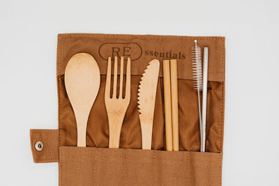 Bamboo Cutlery Set - REssentials