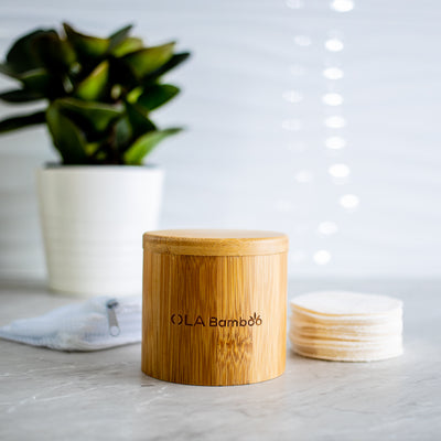 Bamboo Makeup Remover Pads (refill) - OLA Bamboo