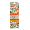 Golden Floral Food Wrap Set of 3