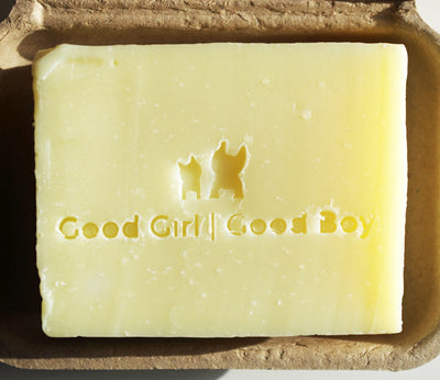 Organic Dog Shampoo Bar - Good Girl/Good Boy