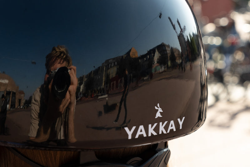 YAKKAY Smart Two skater helmet. Photographer Jens Kühnel