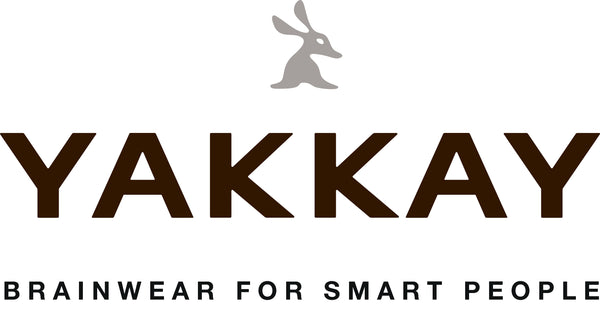 YAKKAY BRAINWEAR FOR SMART PEOPLE