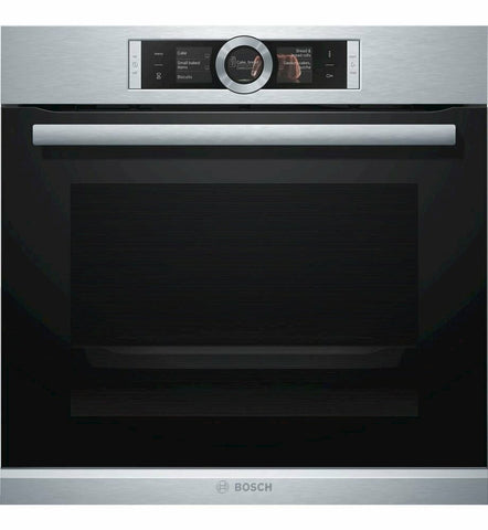 BOSCH 60CM PYROLYTIC SINGLE WALL OVEN