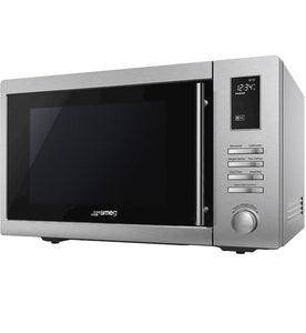 SMEG 34L FREESTANDING MICROWAVE WITH GRILL