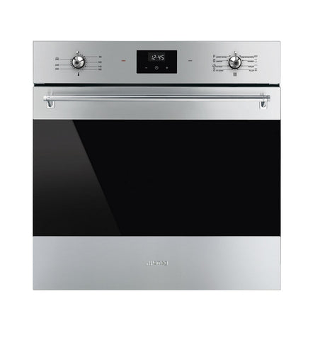 SMEG 60CM STAINLESS STEEL PYROLYTIC BUILT-IN OVEN
