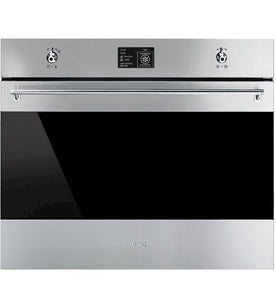 SMEG 70CM PYROLYTIC STAINLESS STEEL BUILT-IN OVEN