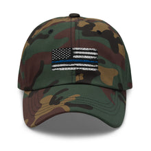 Charger l'image dans la galerie, Thin blue line Dad hat