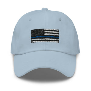 Thin blue line Dad hat