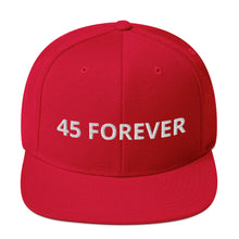 Load image into Gallery viewer, 45 Forever Snapback Hat