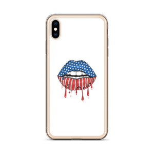 USA Lips iPhone Case