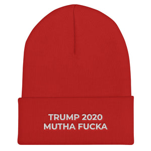 TRUMP 2020 MF Cuffed Beanie - Real Tina 40