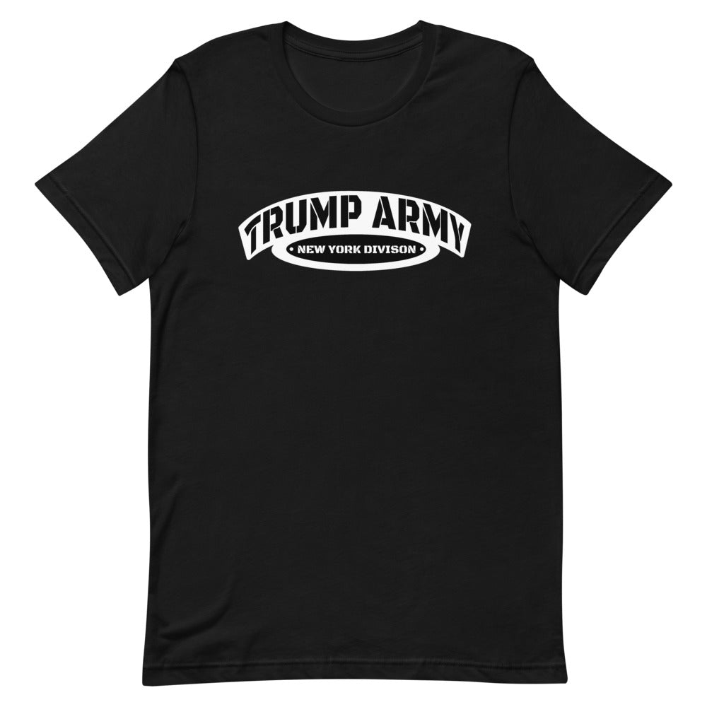 Trump Army New York Division Unisex T-Shirt