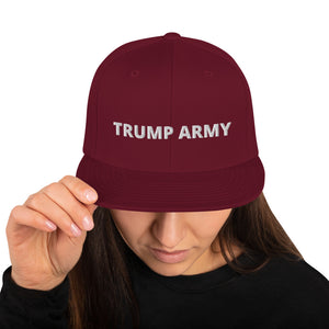 Trump Army Snapback Hat - Real Tina 40