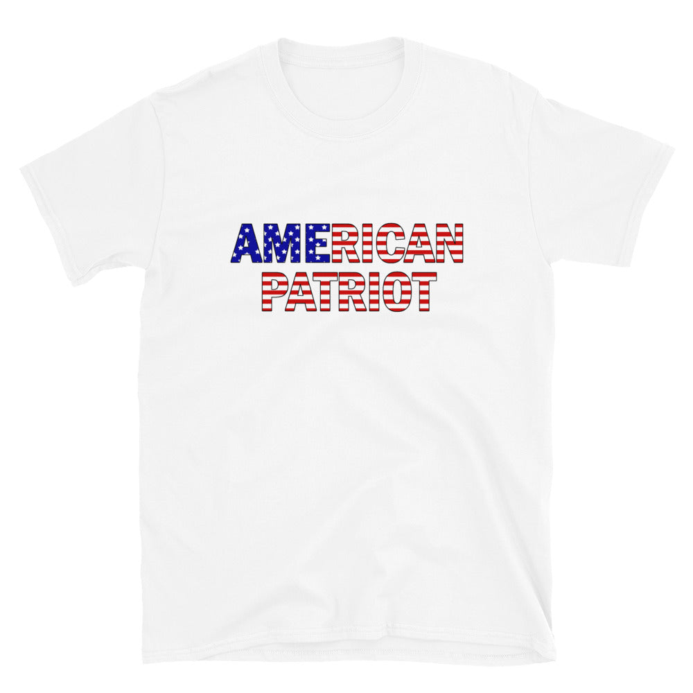 American Patriot Short-Sleeve T-Shirt - Real Tina 40