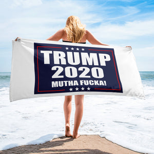 Trump 2020 MF 30x60 Oversized Beach Towel - Real Tina 40