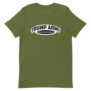 Trump Army New York Division T-Shirt - Real Tina 40