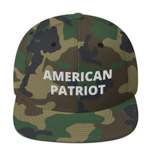 Load image into Gallery viewer, American Patriot Snapback Hat - Real Tina 40