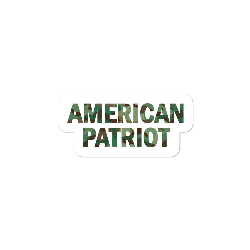 American Patriot Sticker - Real Tina 40